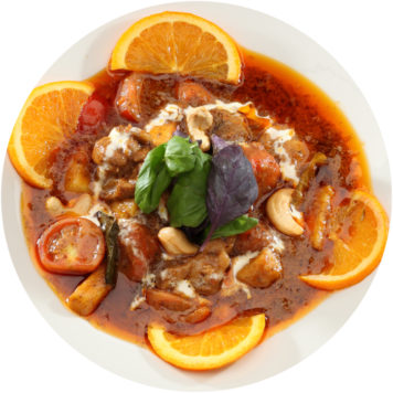 61. CHICKEN RED CURRY