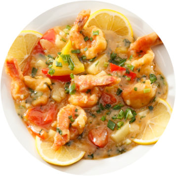 67. KING PRAWN WITH CORIANDER AND LEMON SAUCE
