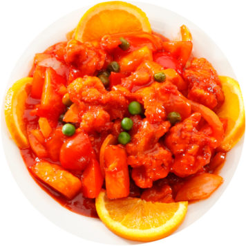 79. SWEET AND SOUR CHICKEN