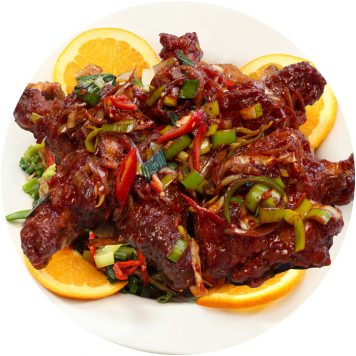 6. SPICY CHICKEN WINGS